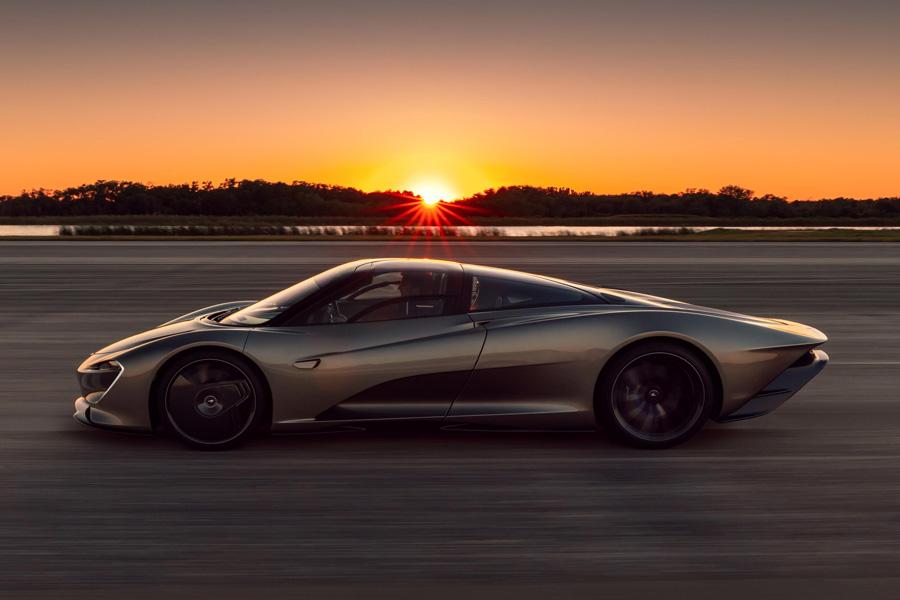 McLaren Speedtail Kennedy Space Center Testing