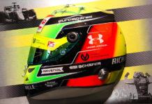 Mick Schumacher F2 Helmet