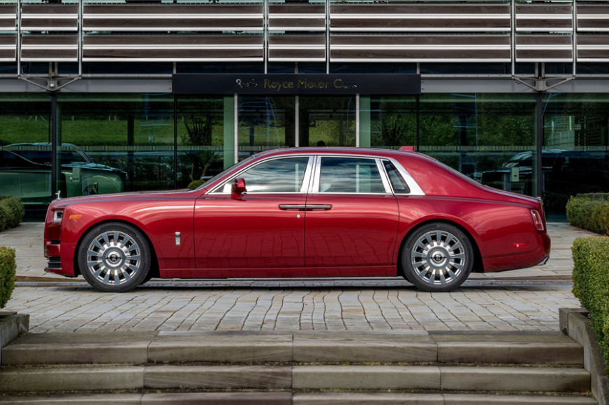 Rolls-Royce Phantom AIDS Auction