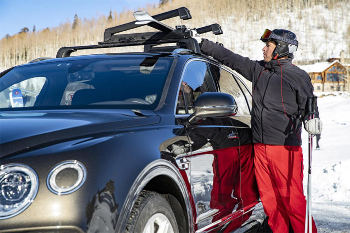 Bentley Bomber Ski Drive Experiences