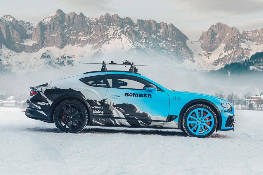 Catie Munnings Continental GT GP Ice Race Zell am See Austria
