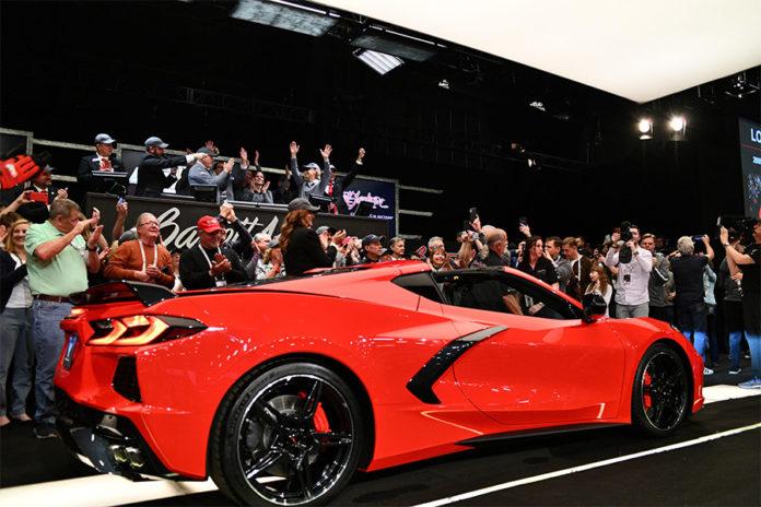 Detroit Children Fund 2020 Corvette Stingray Barrett-Jackson