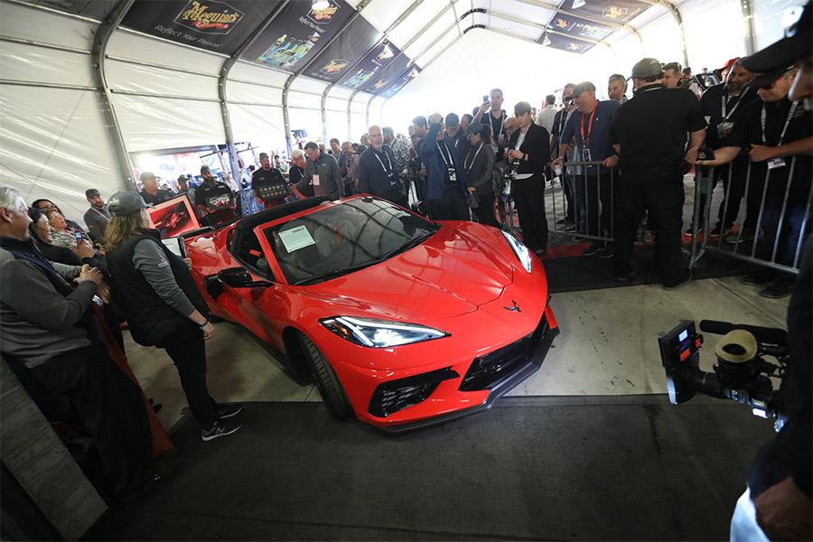 Detroit Children Fund 2020 Corvette-Stingray Barrett-Jackson