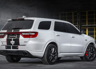 2020 Dodge Durango SRT Black Redline Stripe Editions