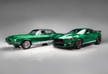 Green Hornet Little Red 1967 Shelby GT500 Prototype Barrett-Jackson