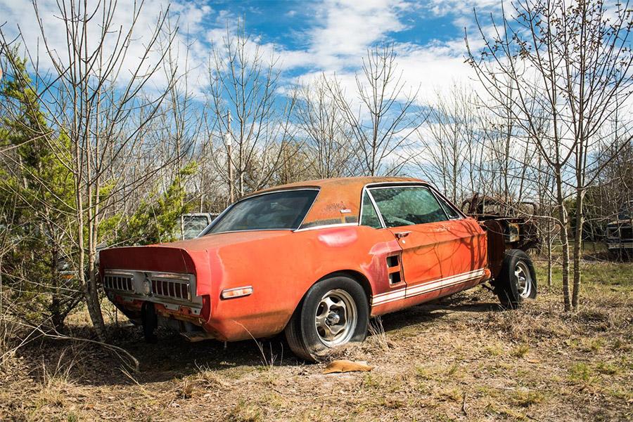 Green Hornet Little Red 1967 Shelby GT500 Prototype Barrett-Jackson