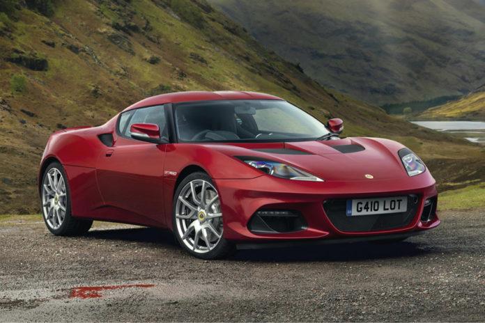 New Lotus Evora GT410
