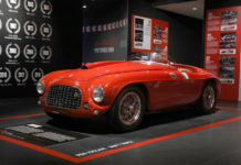 Seventy years of Le Mans Ferrari Museum Display