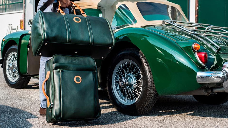The Outlierman Custom Travel Bag Set