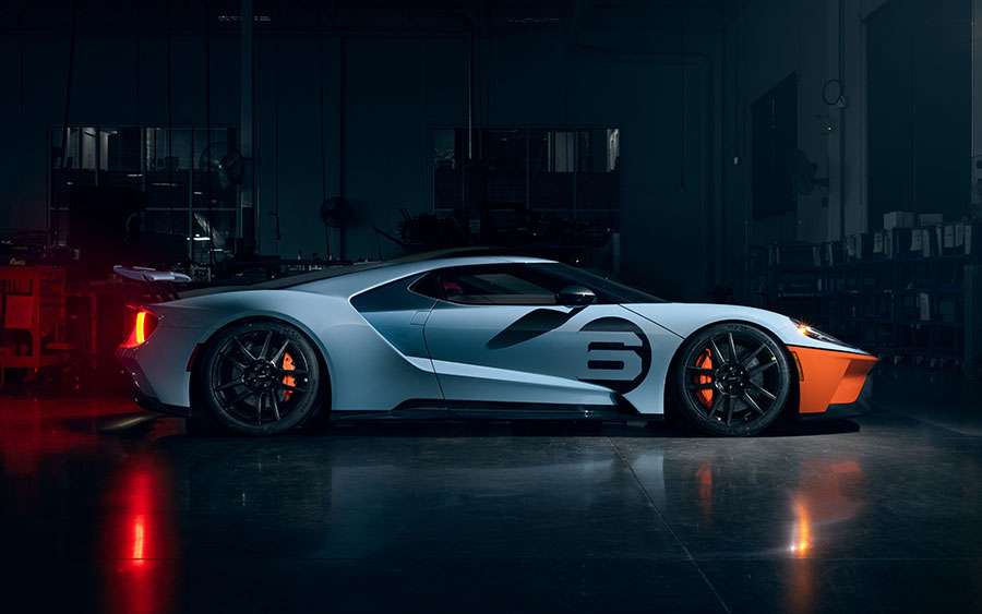 2020 Ford GT Gulf Racing Heritage