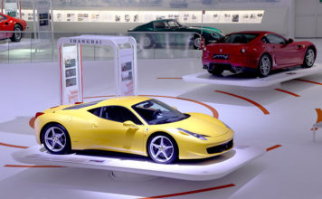 Ferrari Grand Tour Exhibition Modena Italy