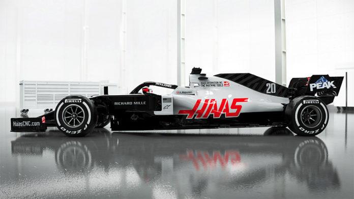 Haas F1 2020 Design