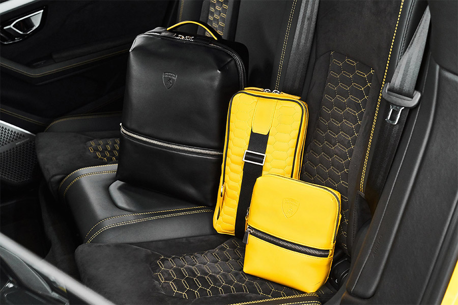 Lamborghini Leather Goods and Travel Collection