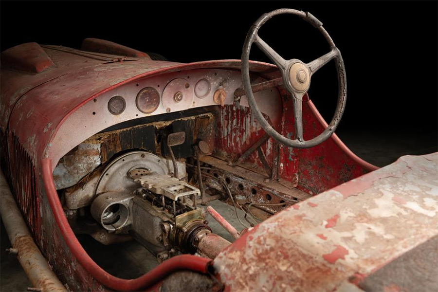 Thornley Kelham Restoration Mussolin Alfa Romeo 6C 1750 SS