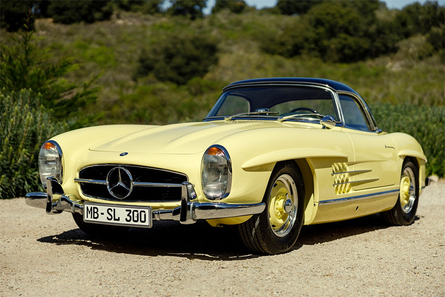 1961 Mercedes-Benz 300SL Roadster Big Brake