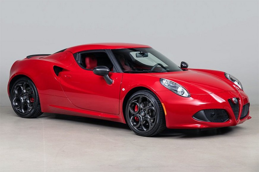 2017 Alfa Romeo 4C for sale