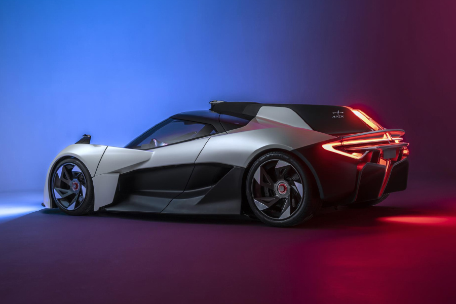 APEX AP-0 concept EV sports car