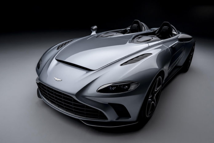 Aston Martin V12 Speedster Unveiled