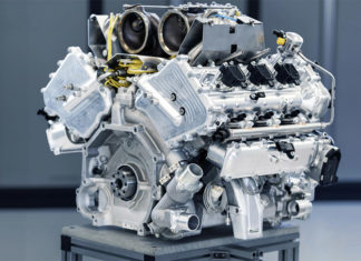 Aston Martin V6 Hybrid Engine