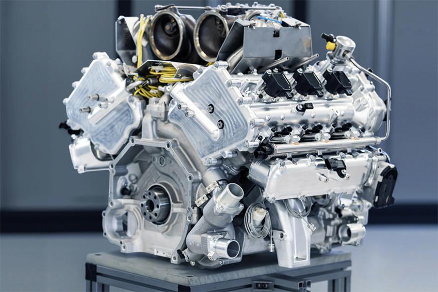 Aston Martin V6 Hybrid Engine