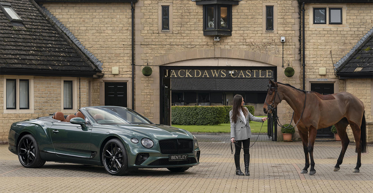 Like Luxury Cars And Horses Bentley Has A Continental Gt Equestrian Edition For You