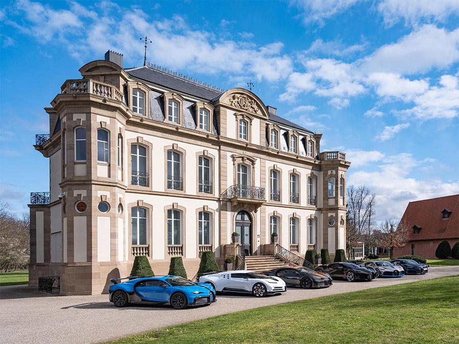 Bugatti Exclusive Hyper Sports Car Lineup
