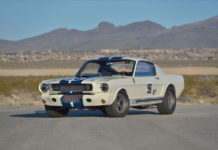Ken Miles Shelby GT350R Competition Mecums Auction