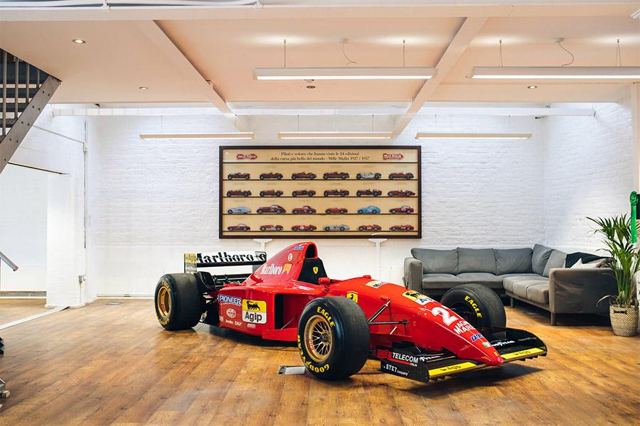 Schumacher 1995 Ferrari 412 T2