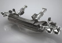 Tenneco CA Cold end Exhaust for 2020 Corvette