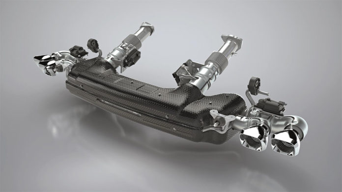 Tenneco CA Cold end Exhaust for 2020 Corvette