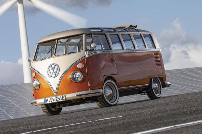 Volkswagen e-BULLI Electric Bus