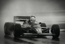 Ayrton Senna Lotus First F1 Win 1985 Portuguese Grand Prix