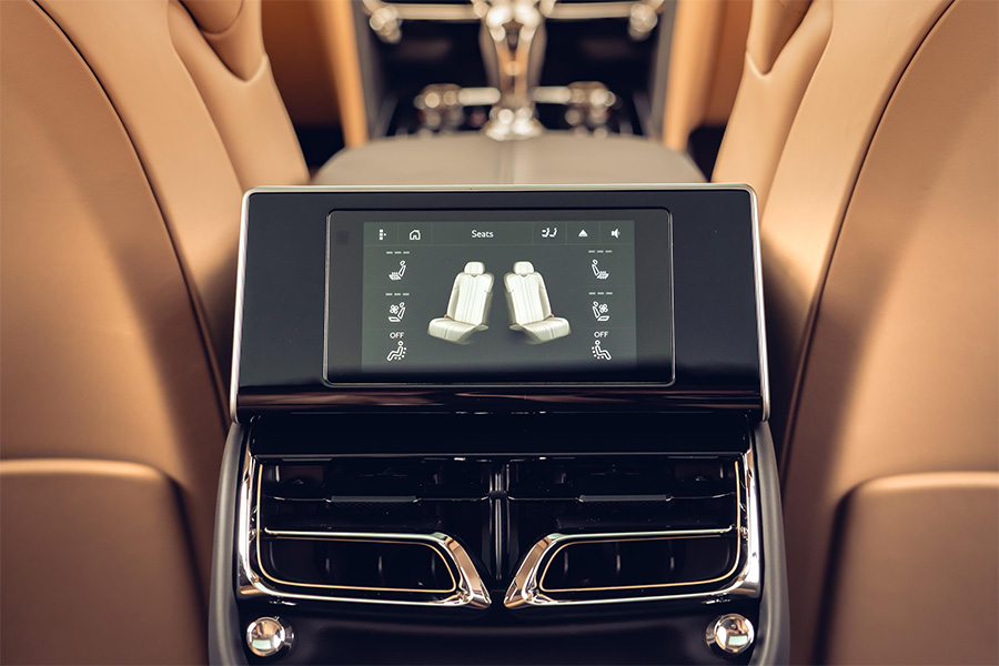 Bentley Flying Spur Touch Screen Remote