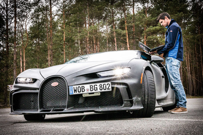 Bugatti Vehicle Development Continues at Molsheim