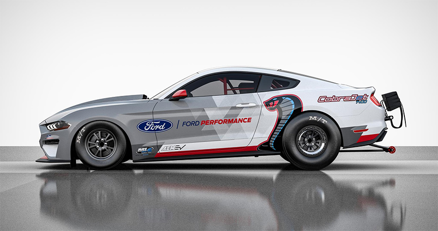 Ford Electric Mustang Cobra Jet 1400