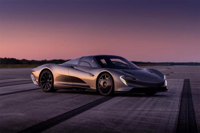 McLaren Speedtail Electric Drive Battery Technology