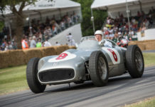 Mercedes-Benz Stirling Moss Tribute