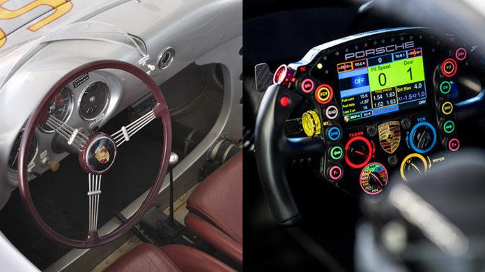 Porsche Steering Wheel Multifunctional Control Center