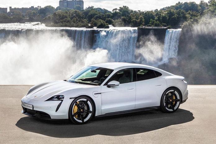 Porsche Taycan World Car Awards Winner