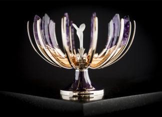 Rolls-Royce Spirit of Ecstasy Fabergé Egg