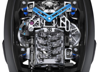 V16 Engine Bugatti Timepiece Jacob & Co.