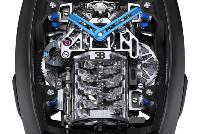 V16 Engine Bugatti Timepiece Jacob & Co.