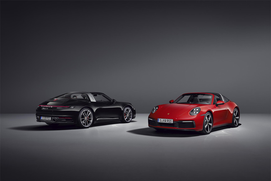 2021 Porsche 911 Targa 4 and 4S Debuts
