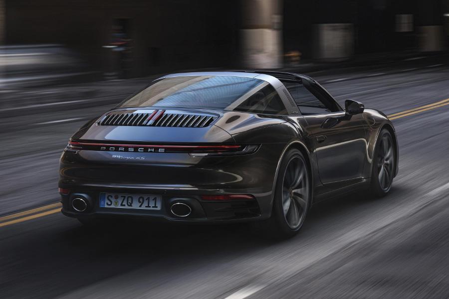 2021 Porsche 911 Targa 4 and 4S Debuts