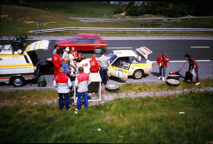Forty Years of the Audi Quattro