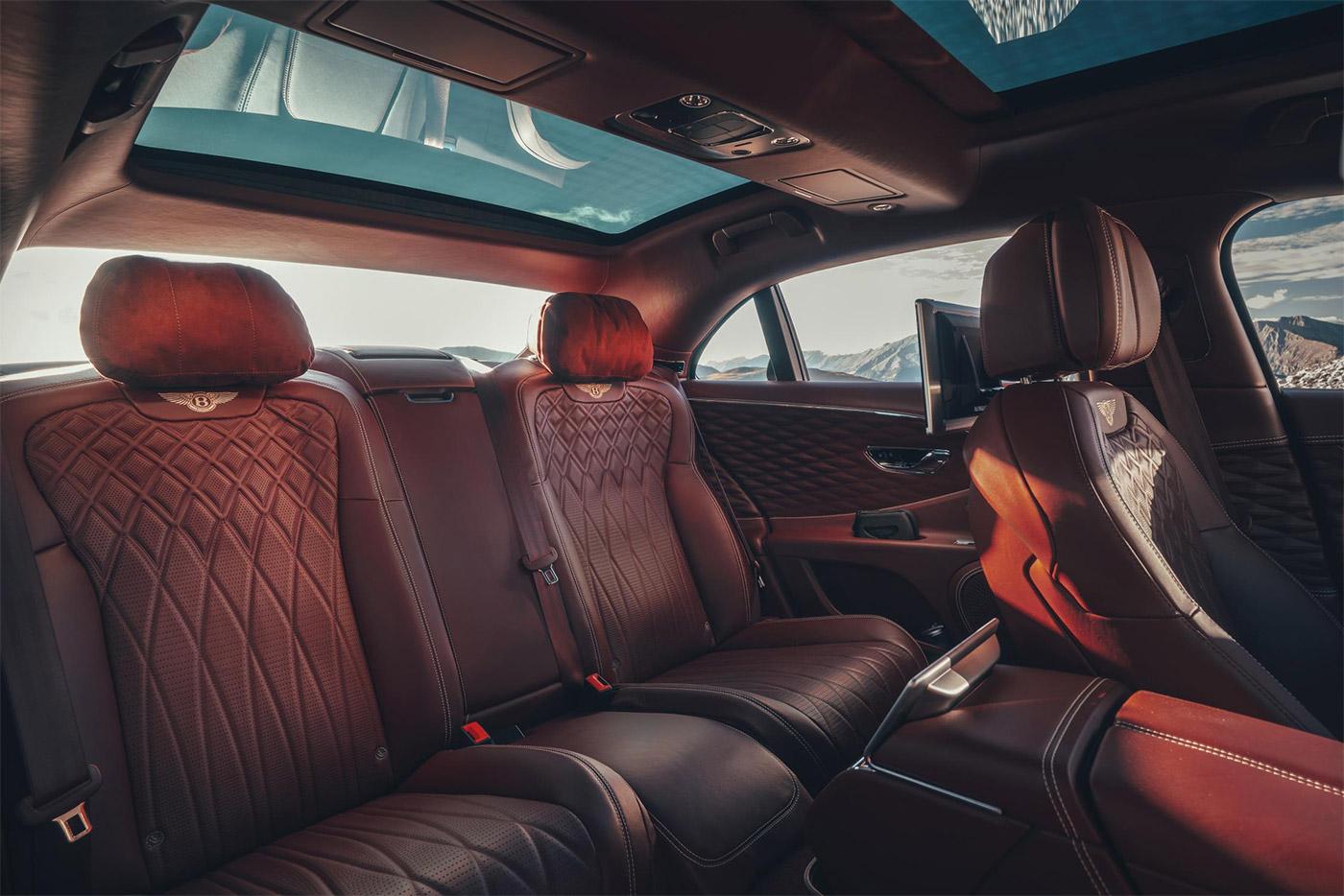 Bentley Flying Spur Rear Cabin Options