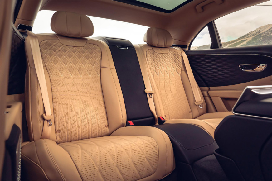 Bentley Flying Spur Rear Cabin Options