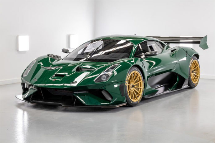 Brabham BT62 Competition Delivery for Britcar Debut