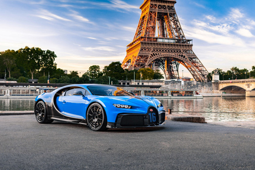 Bugatti Chiron Pur Sport Tour European Cities
