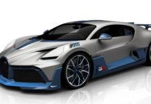 Bugatti Divo Configuration